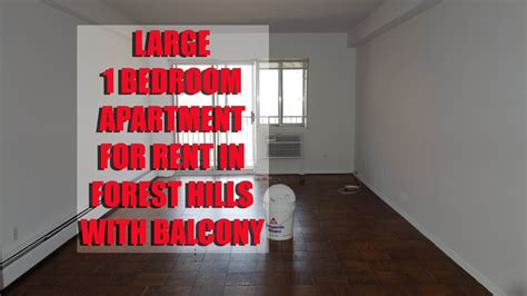 bedroom apartment  balcony  rent  forest hills queens nyc youtube