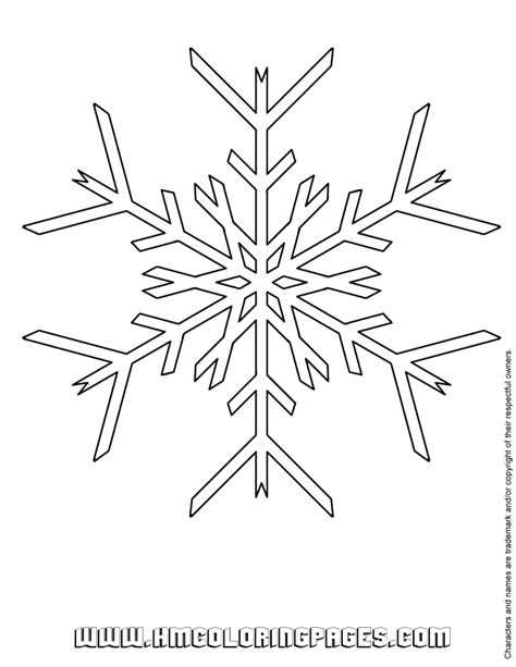 printable snowflakes small printable snowflake coloring pages coloring home
