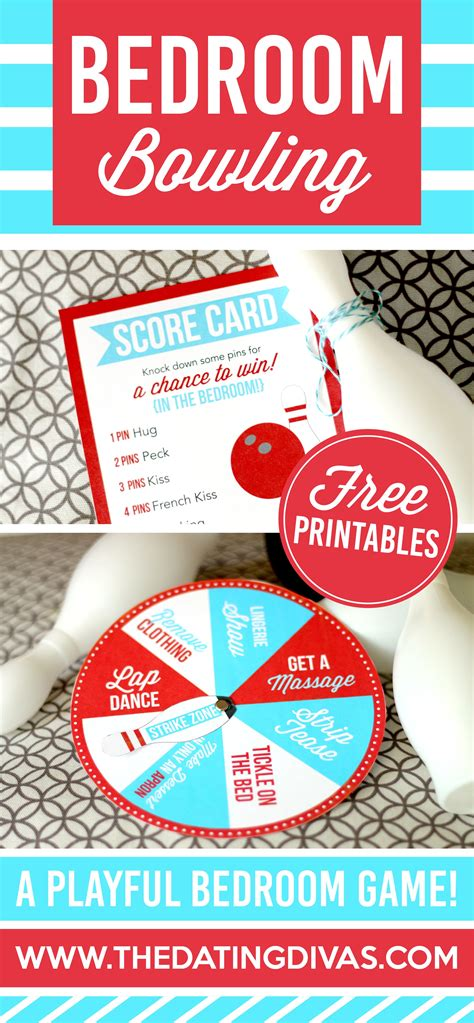 games to spice up the bedroom bedroom bowling bedrooms gift and free printables