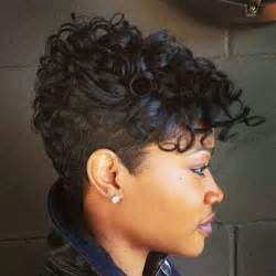 black with haircut and tappered sides 61 short hairstyles that black women can wear all year long