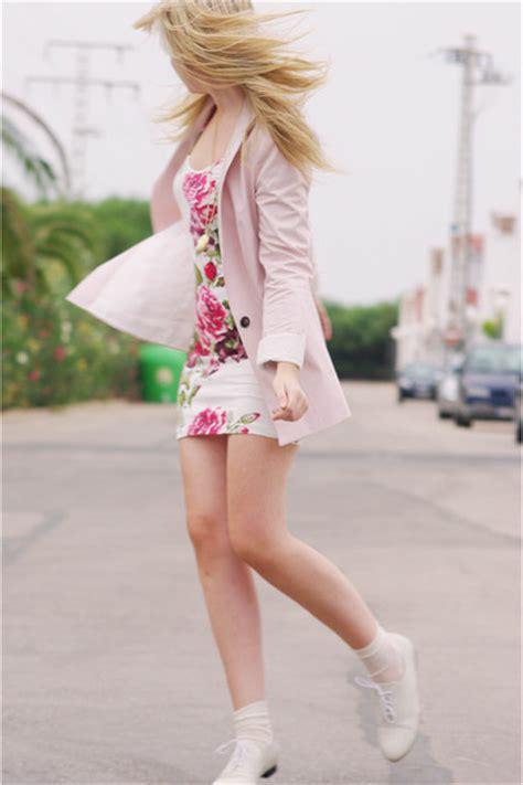 pink zara blazers beige blanco shoes white primark