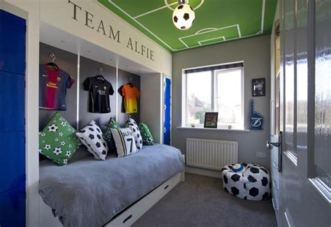 football bedroom ideas case study football themed bedroom projects 360