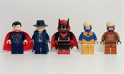 Lego Sapphire Minifigure an army of awesome dc comics lego mini figures
