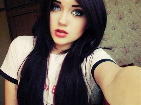 girl with black hair blue eyes untitled by im your paradise d6h82gvjpg 1024 215 768 image