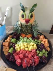 Baby Shower Tray Decoration by Woodland Themed Baby Shower Owl Fruit Tray This The