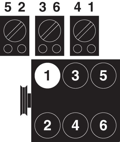 i need a diagram for the firing order on my 2002 chevy ven