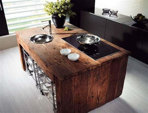 reclaimed kitchen islands reclaimed wood kitchen island modern kitchens