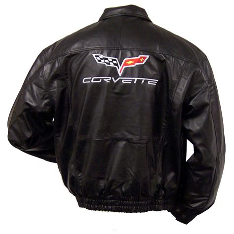 s corvette 174 embroidered bomber jacket 175088