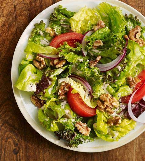 9 salads recipe book 170 easy gluten free low cholesterol whole foods recipes of antioxidants phytochemicals salads recipes volume 9 books garden salad with walnut vinaigrette california walnuts