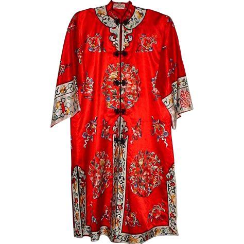 kimono robe ravishing silk embroidered robe or kimono 15