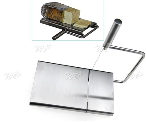 Fernandi Trademark Rimless Bor Stailess Steel 99 Gold Shop 2 stainless cheese butter cutter wire slicer eazy use