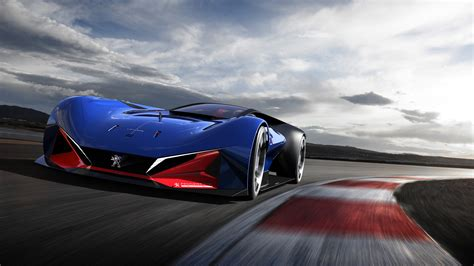 Wallpaper Peugeot, L500 R Hybrid, Racing, Concept Cars, 4K