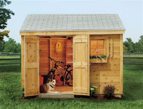 backyard sheds home depot the neat retreat dressing up your shed garden club