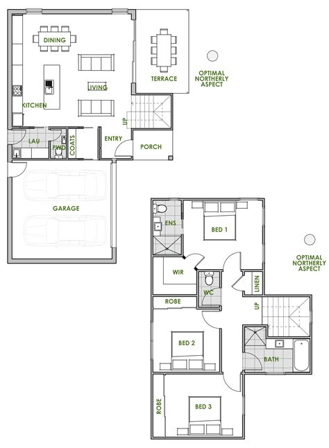 space saving floor plans modern house plans efficient 30x40 2 bedroom rustic metal