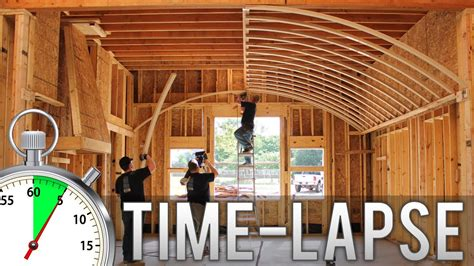 How To Vault Ceiling by Barrel Vault Ceiling Time Lapse