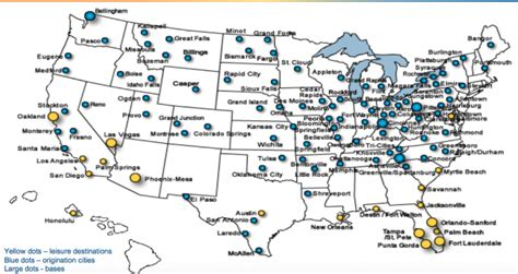 allegiant air route map allegiant air weathers the prickly dynamics of a low fuel environment expects steady growth