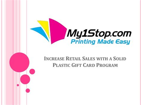 Gift Card Programs For Retailers - increase retail sales with a solid plastic gift card program