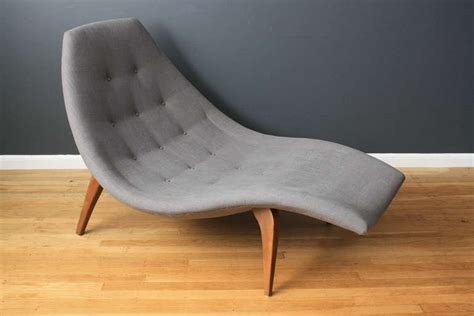 mid century chaise lounge mid century modern chaise lounge in the style of adrian