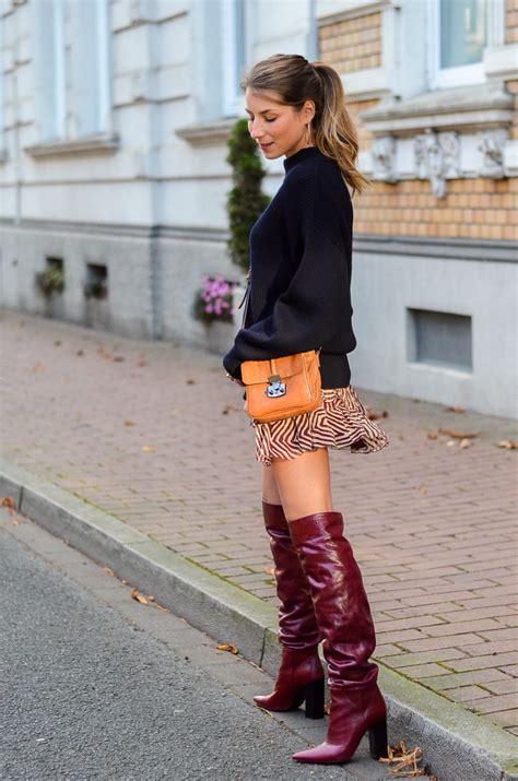 High Heels Zara Dututu oversized pullover boots marant skirt v 233 j 224 du modeblog aus deutschland fashion