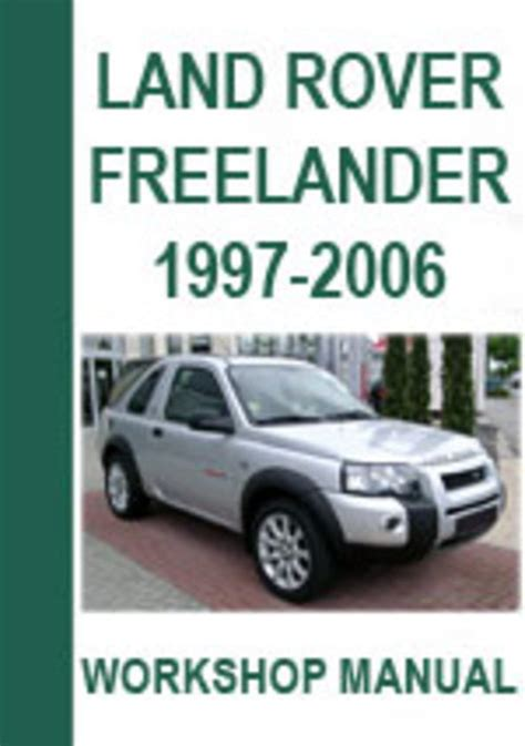 auto repair manual free download 1997 land rover range rover parental controls land rover freelander 1997 2006 workshop repair manual download m