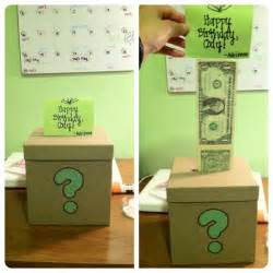 a gift for my boyfriend s brother a box with dollar bills