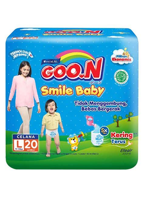Handuk Smile goo n smile baby 20 s pck large klikindomaret