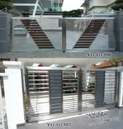 house steel gate designs house steel slide main gate designs buy house steel main