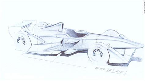 Formula 1 Sketches by Formula E The Sci Fi Future Of Motorsport Cnn