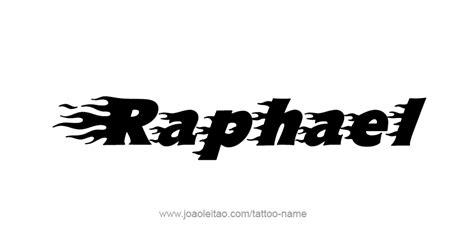 tattoo name raphael raphael angel name tattoo designs