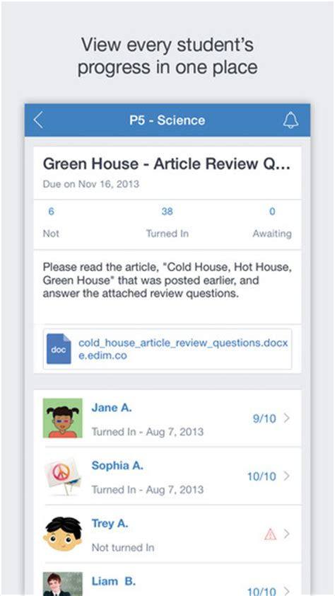 edmodo notifications on iphone edmodo on the app store on itunes