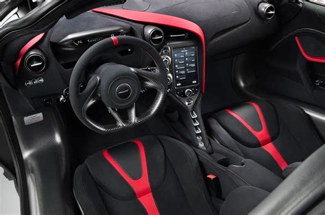 orange mclaren interior mclaren 720s velocity is model line s first mso special