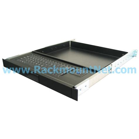 Rack Mount Keyboard Drawer by Lrk109 1u Rackmount 87 Key Keyboard Drawer With Trackball