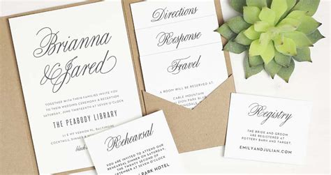 difference between day and evening wedding invitations wedding stationery with basic invite northern virginia