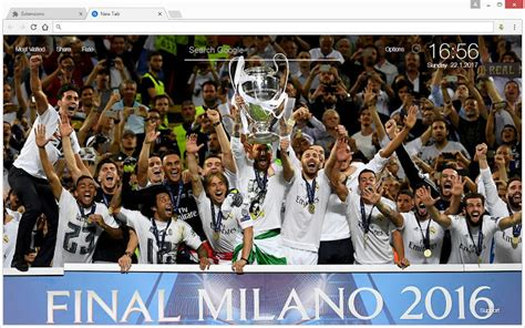 google chrome themes gallery real madrid real madrid wallpaper hd soccer newtab themes chrome web