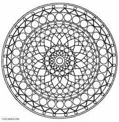 Kaleidoscope Coloring Pages To Print sketch template