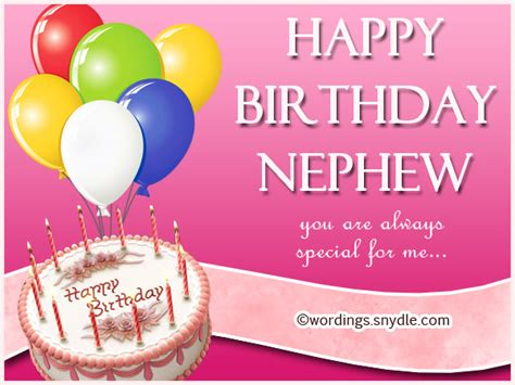 Happy Birthday To My Nephew Quotes Top 19 Images Happy Birthday Wishes For Nephew And Best