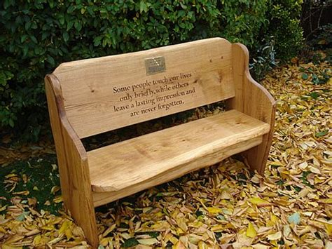 oak memorial benches rustic wood benches outdoor oak memorial benches rock