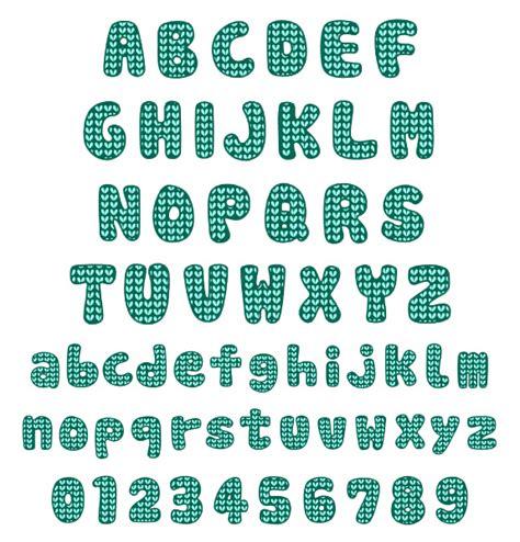 knitting pattern fonts knit pattern font embroidery font annthegran