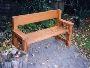 Patio Bench Diy Cool Simple Outdoor Bench Diy Design Home Inspirations