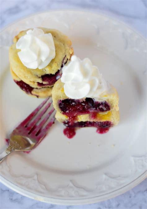 The Secret Lives Of Pies mini cranberry blueberry pies