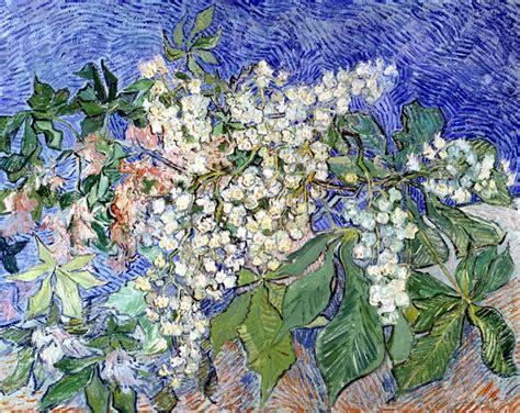 i fiori analisi rami di castagno in fiore di gogh analisi