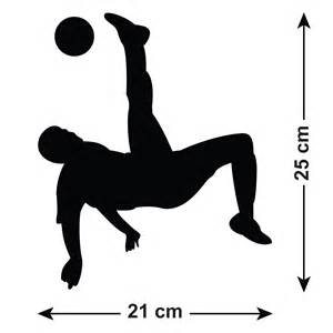 Sports Player Outline by Soccer Player Silhouette Clipart 39