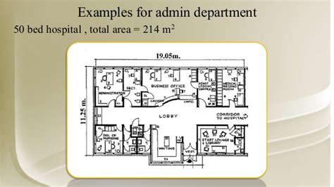 Rehabilitation Center Floor Plan Hospital Design