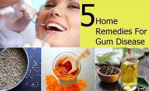 home remedies for gum disease treatments cure