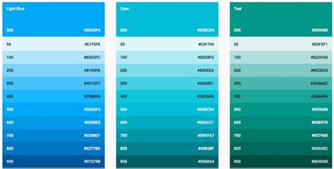 material design color schemes google material design everything you need to know