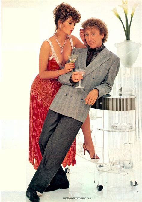 gene wilder red dress kelly lebrock and gene wilder in quot woman in red quot 1984