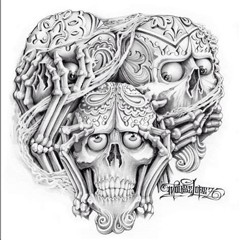 image gallery hear no evil tattoo