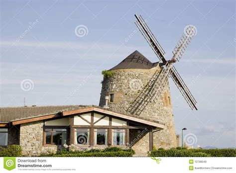 Windmill Sheds by Windmill Royalty Free Stock Images Image 12798049