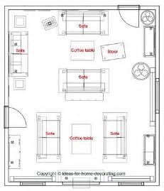 Room Plan by Arranging Living Room Furniture
