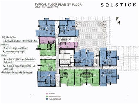 Solstice Floor Plan by Solstice Circuit Makati Ayalaland Seller